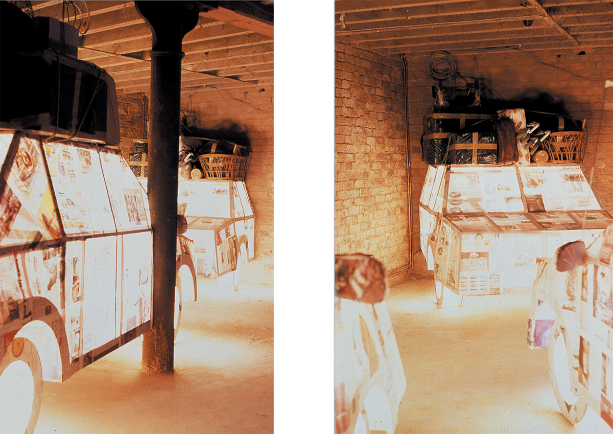 A Day in the Open, 2002 FLOATING IP Gallery Manchester